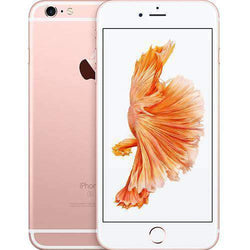 Apple iPhone 6S Plus 128GB Rose Gold Unlocked - Refurbished Very Good Sim Free cheap