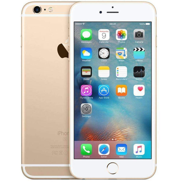 Apple iPhone 6S Plus 16GB Gold Unlocked - Refurbished Pristine (NO TOUCH ID)