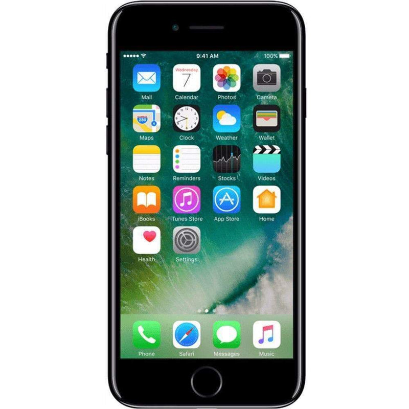 Apple iPhone 7 128GB, Jet Black Unlocked - Refurbished Good
