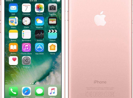Apple iPhone 7 128GB, Rose Gold (Unlocked) - Refurbished Good Sim Free cheap