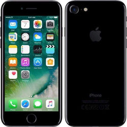 Apple iPhone 7 256GB, Jet Black (Vodafone) - Refurbished Good Sim Free cheap