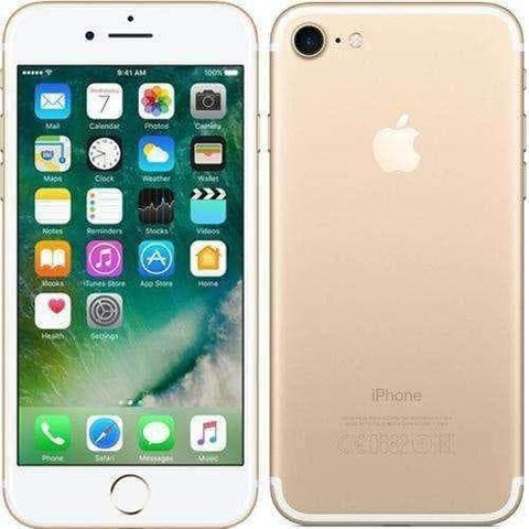 Apple iPhone 7 32GB Gold Unlocked - Refurbished Very Good Sim Free cheap