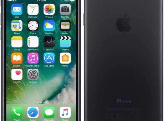 Apple iPhone 7 32GB, Matte Black Unlocked - Refurbished