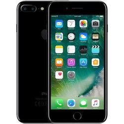 Apple iPhone 7 Plus 128GB, Jet Black (Vodafone Locked) - Refurbished Good Sim Free cheap