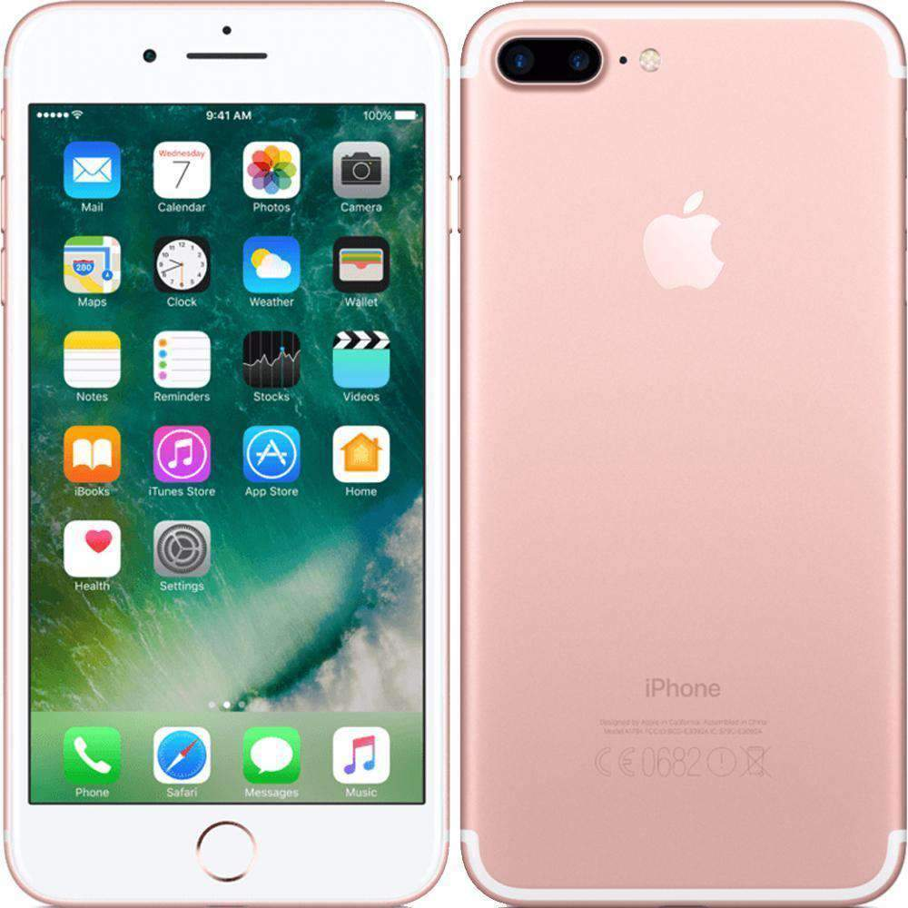 Apple iPhone 7 Plus 256GB Rose Gold Unlocked - Refurbished Very Good Sim Free cheap