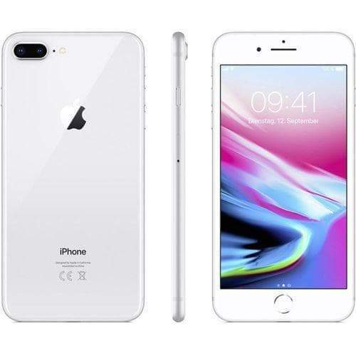 Apple iPhone 8 Plus 64GB, Silver (Unlocked) - Refurbished Good Sim Free cheap