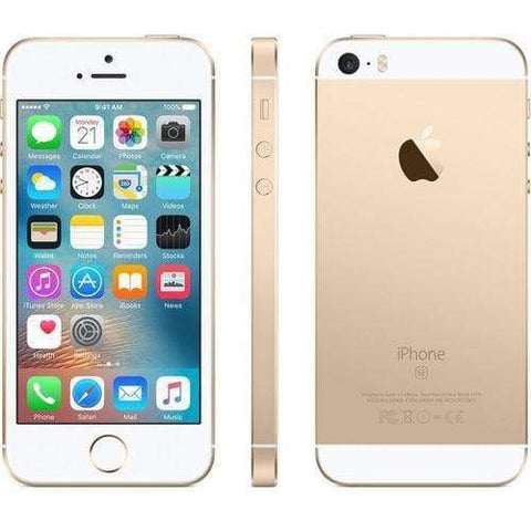 Apple iPhone SE 64GB Gold Unlocked - Refurbished Excellent