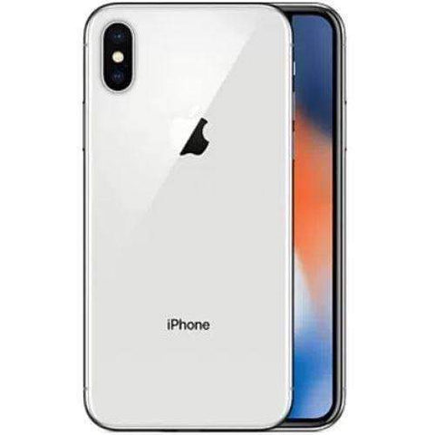 Apple iPhone X 64GB Silver Vodafone Refurbished Excellent Sim Free cheap