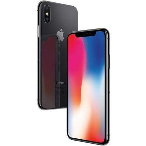 Apple iPhone X 64GB, Space Grey (EE Locked) - Refurbished Excellent