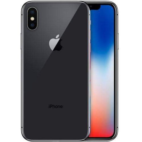 Apple iPhone X 64GB, Space Grey - Refurbished