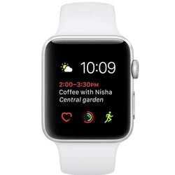 Apple Watch Series 1 - 38 mm - silver aluminium - smart watch with spor Sim Free cheap