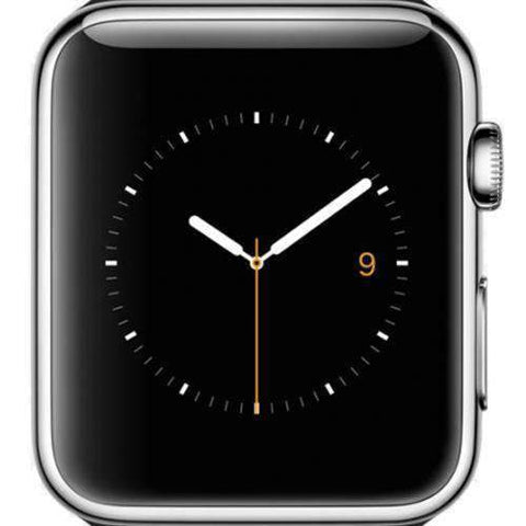 Apple Watch Series 1 38mm Silver Aluminium Case - Refurbished Good Sim Free cheap