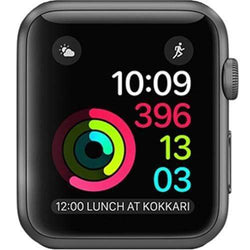 Apple Watch Series 1 38mm  Space Grey Aluminium Case - Refurbished Good
