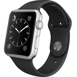Apple Watch Series 1 42mm Silver Aluminium Case - Refurbished Good Sim Free cheap