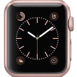 Apple Watch Series 1 Smartwatch 38mm Rose Gold Aluminium Case - Refurbished Excellent
