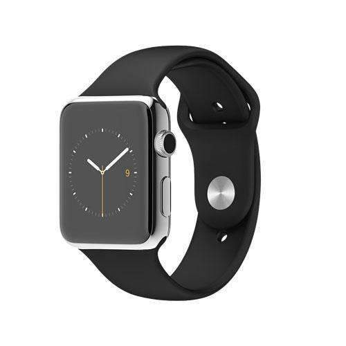 2ca2f9ee2 Apple Watch Series 1 Smartwatch 42mm Silver Stainless Steel Case with -  Handtec