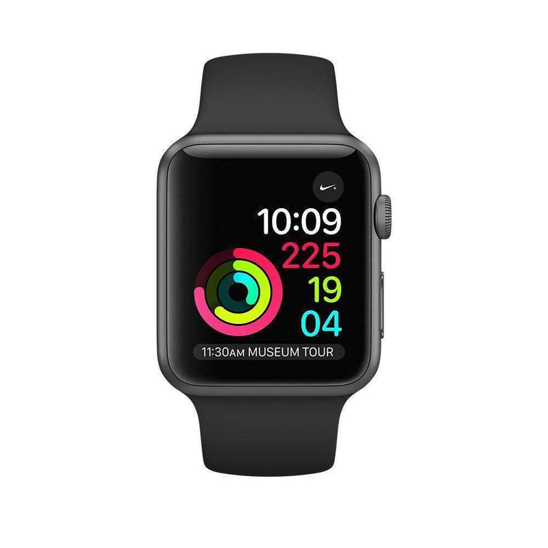 Apple Watch Series 1 Smartwatch 42mm Space Grey Aluminium Case - Refurbished Very Good Sim Free cheap