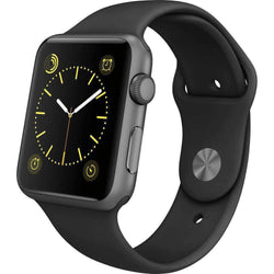 Apple Watch Series 1 Space Grey 42mm Aluminium Case - Refurbished Very Good Sim Free cheap