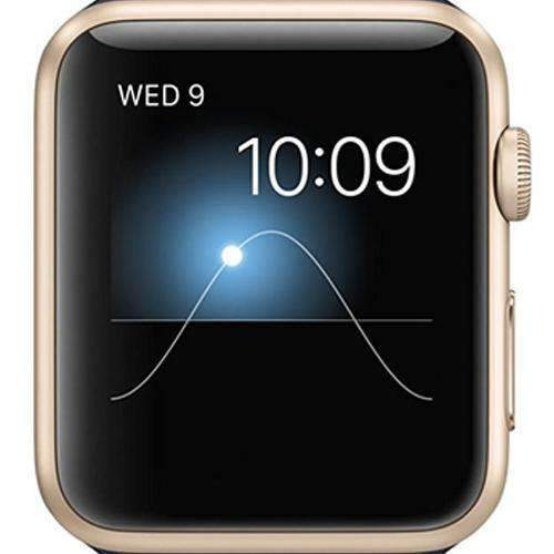 Apple Watch Series 2 Smartwatch 42mm Gold Aluminium Case - Refurbished Excellent Sim Free cheap
