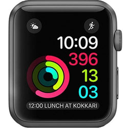 Apple Watch Series 1 42mm , Space Grey Aluminium Case - Refurbished Good