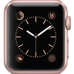 Apple Watch Series 1 Smartwatch 38mm Rose Gold Aluminium Case Refurb Good