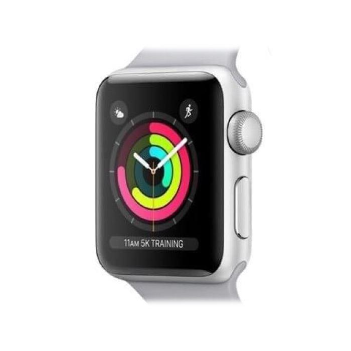 Apple Watch Series 3 42mm GPS Silver Aluminium Refurbished Pristine