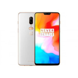 Oneplus 6 128GB Dual Sim Silk White Unlocked Refurbished Pristine Pack