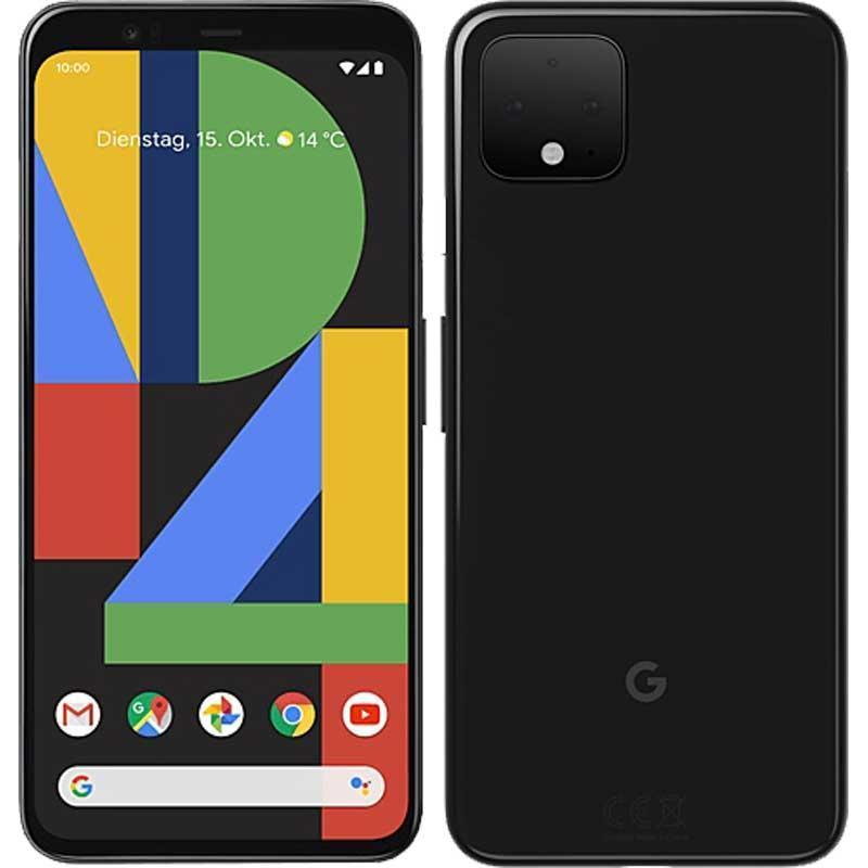 Google Pixel 4 64GB, Just Black Unlocked Refurbished Pristine