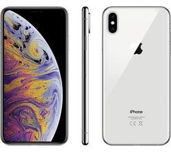 Apple iPhone XS Max 256GB, Silver (EE) Refurbished Pristine