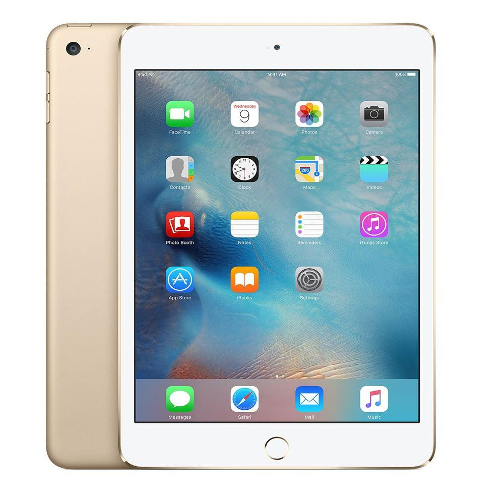 Apple iPad Mini 4 128GB WiFi Gold Refurbished Excellent