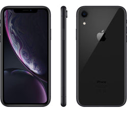 Apple iPhone XR 64GB Unlocked Black Refurbished Pristine