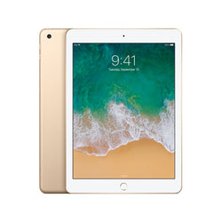 Apple iPad 5th Gen 32GB WiFi 4G Gold Unlocked Refurbished Pristine
