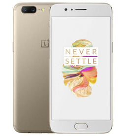 OnePlus 5 Dual SIM 64GB Soft Gold Refurbished Pristine