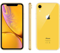 APPLE iPhone XR 64GB Yellow Unlocked Refurbished Pristine