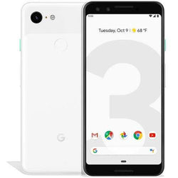 Google Pixel 3 128GB Clearly White Unlocked Refurbished Excellent