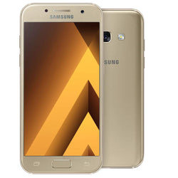 Samsung Galaxy A3 (2017) 16GB Gold Unlocked Refurbished Pristine