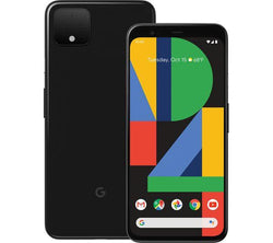 Google Pixel 4 XL Just Black 64GB Unlocked Refurbished Pristine