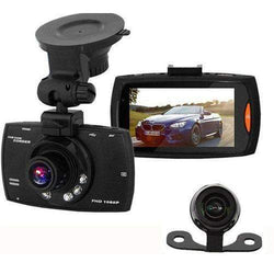 Hawkeye Full HD Dual Front & Rear Dash Cam With Collision G-Sensor + 16GB MicroSD Card Sim Free cheap