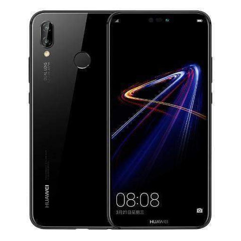 Huawei P20 Lite 64GB, Black (Unlocked) Refurbished Excellent