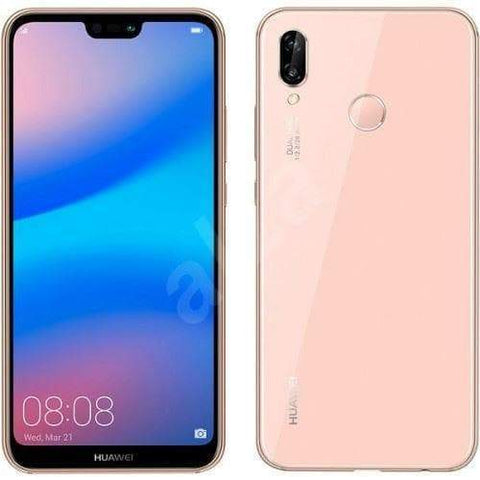 Huawei P20 Lite 64GB, Pink (Unlocked) Refurbished Very Good Sim Free cheap