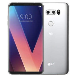 LG V30 64GB Cloud Silver (Unlocked) - Refurbished Excellent