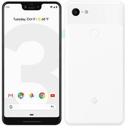 Google Pixel 3 XL 64GB Unlocked Clearly White Refurbished Excellent