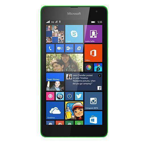 Microsoft Lumia 535 8GB Green Unlocked - Refurbished Excellent Sim Free cheap