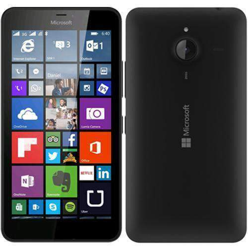 Microsoft Lumia 640 XL 4G/LTE Black Unlocked - Refurbished Very Good Sim Free cheap