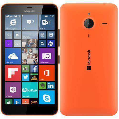 Microsoft Lumia 640 XL 4G/LTE Orange Unlocked - Refurbished Excellent Sim Free cheap