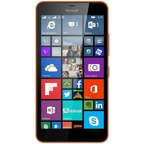 Microsoft Lumia 640 XL Smartphone - Orange Sim Free cheap