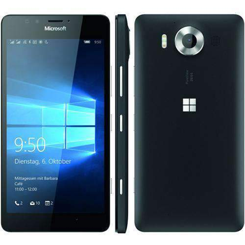 Microsoft Lumia 950 32GB Black (O2 Locked) - Refurbished Excellent Sim Free cheap