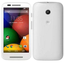 Motorola Moto E Smartphone 4GB White Unlocked - Refurbished Excellent Sim Free cheap