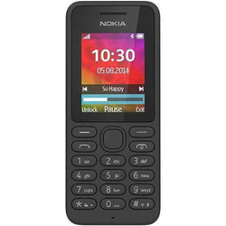 Nokia 130 Black Unlocked - Refurbished Very Good Sim Free cheap