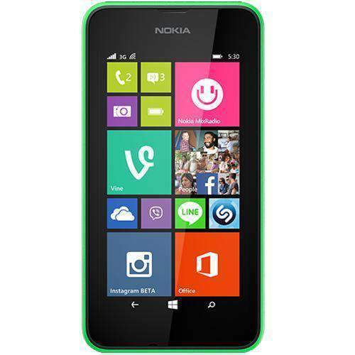 Nokia Lumia 530 Dual SIM 4GB Bright Green Unlocked - Refurbished Excellent Sim Free cheap